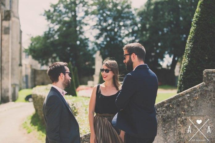 chateau de la chevallerie, aude arnaud photography, mariage saint gemme la plaine, eglise saint gemme la plaine52