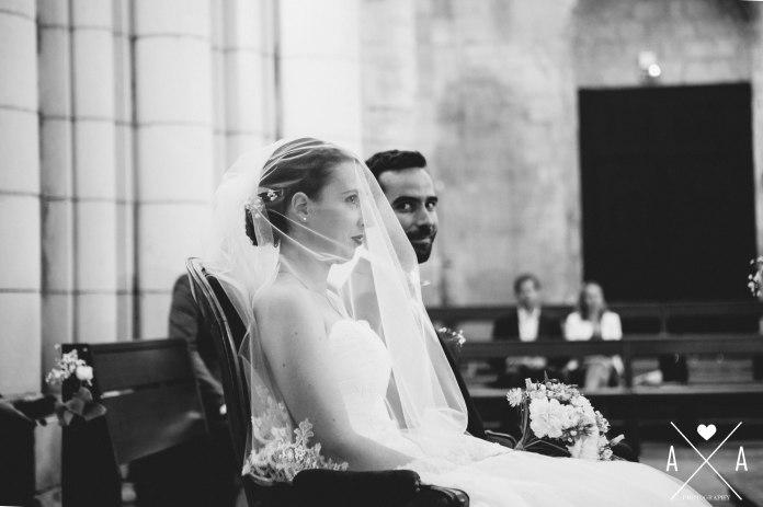 chateau de la chevallerie, aude arnaud photography, mariage saint gemme la plaine, eglise saint gemme la plaine58